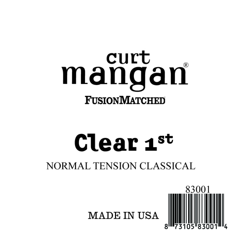 Clear 1st Normal Tension Single String