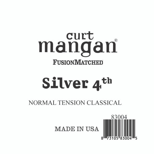 Silver 4th Normal Tension Single String