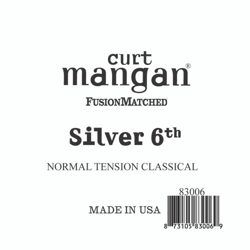 Silver 6th Normal Tension Single String