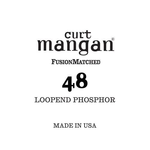 48 Loop End Phosphor Single String