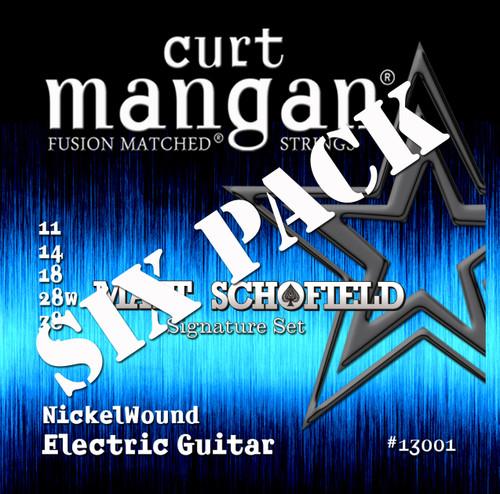 Matt Schofield Signature Set Nickel Wound Six Pack