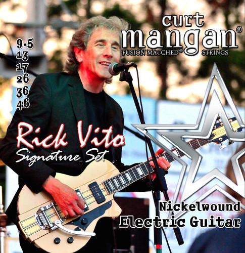 Rick Vito's Custom Signature 9.5-46 Nickel Wound Set