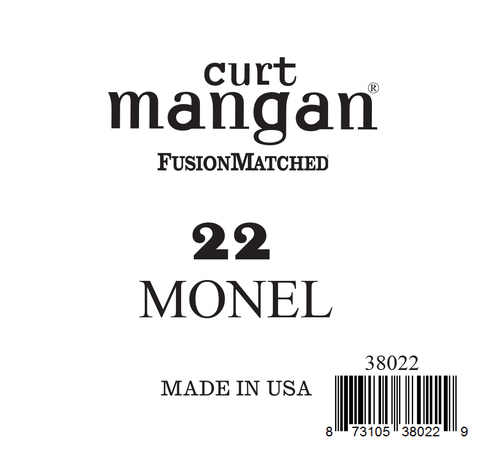 22 Monel Ball End Single String
