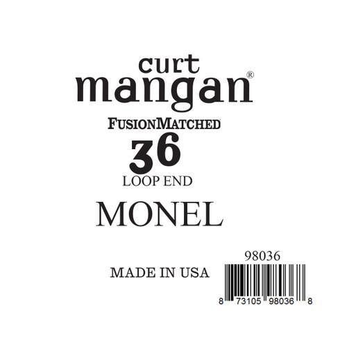 36 Monel LOOP END Single String