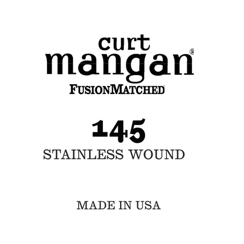 145 Stainless Wound Bass Single String