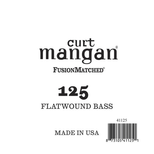 125 FlatWound Bass Guitar Single String
