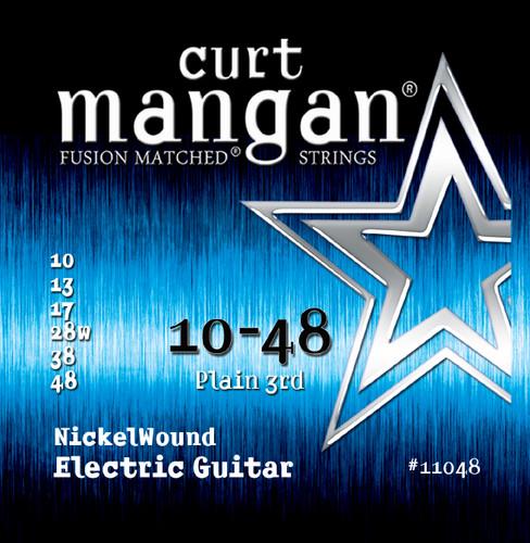 10-48 Nickel Wound Guitar String Set