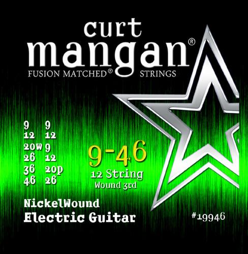 9-46 12-String Light Nickel Wound Guitar String Set