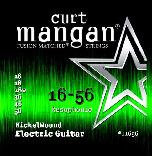 16-56 Nickelwound Resophonic / Resonator Guitar String Set
