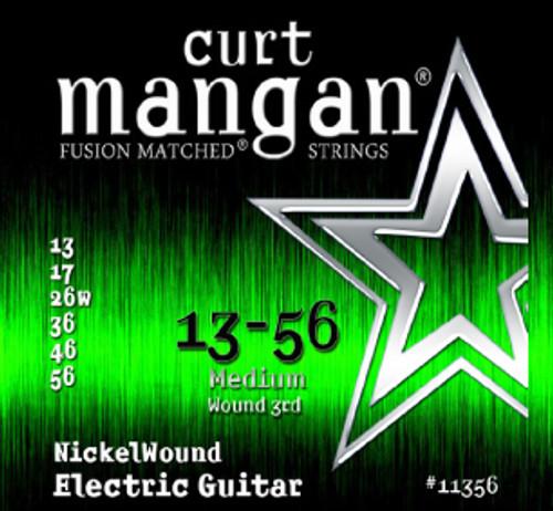 13-56 Nickel Wound Guitar String Set