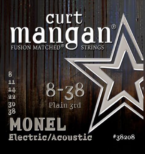 8-38 Monel Hex Core Guitar String Set