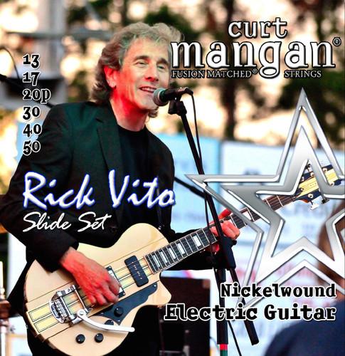Rick Vito's Custom Signature 13-50 Slide Guitar String Set - Nickel Wound