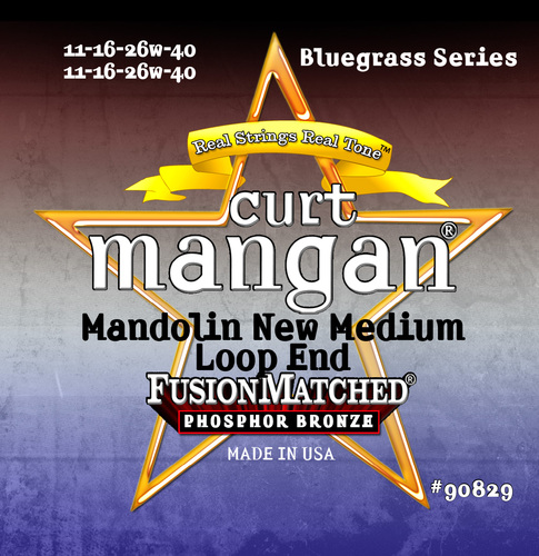 Mandolin Phosphor New Medium 11-40