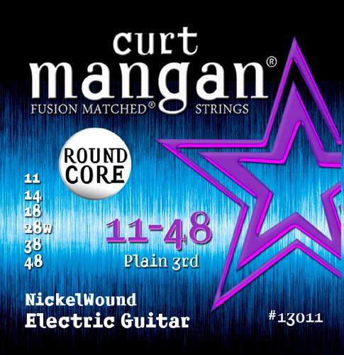 11-48 ROUND CORE Nickel Wound Guitar Strings