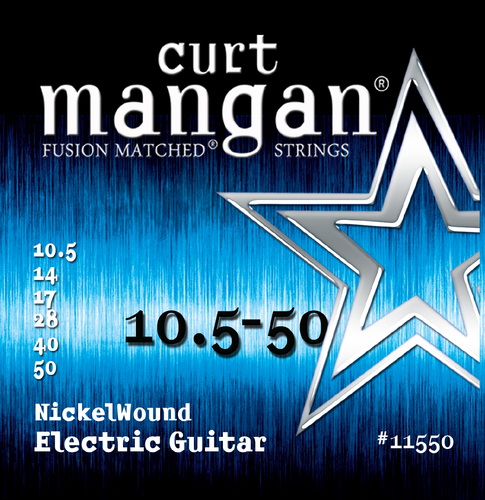 10.5-50 Nickel Wound Guitar String Set