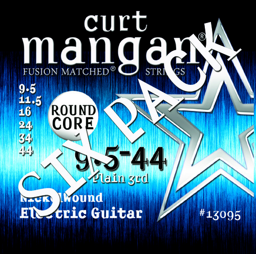 9.5-44 Round Core Nickel Wound SIX PACK