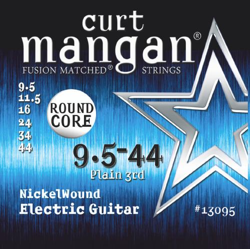 9.5-44 Round Core Nickel Wound Electric Guitar String Set