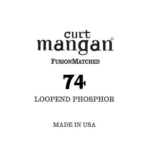 74 Loop End Phosphor Single String