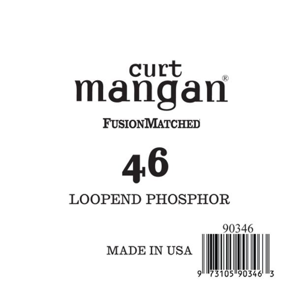 .46 Loop End Phosphor Single String