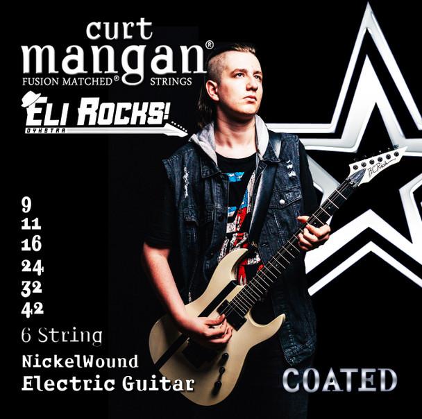 Eli Dykstra 9-42 Custom Signature 6 String Nickel Wound Set