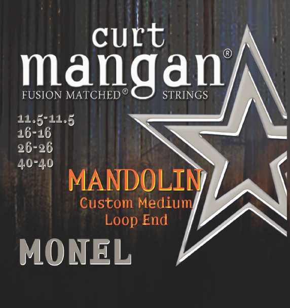 Monel Mandolin 11.5-40