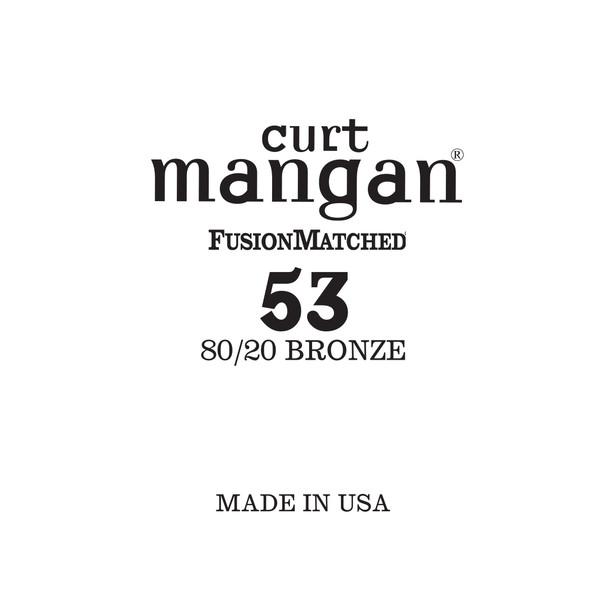 53 80/20 Bronze Single String