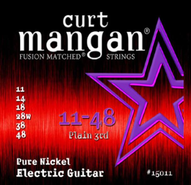 11-48 Pure Nickel Guitar Strings