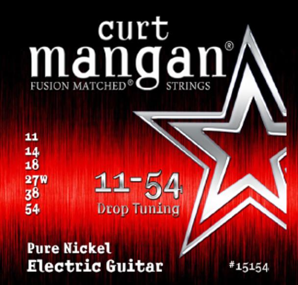 11-54 Pure Nickel Guitar Strings