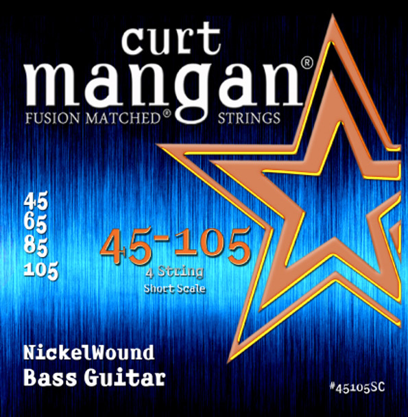 45-105 Nickel Bass Short Scale 4-String