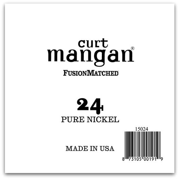 24 Pure Nickel Wound Single String