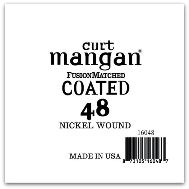 48 Nickel-Plated Steel COATED Single String