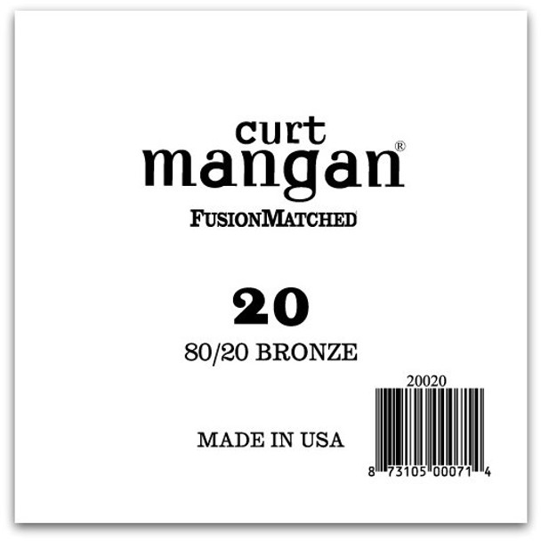 20 80/20 Bronze Single String