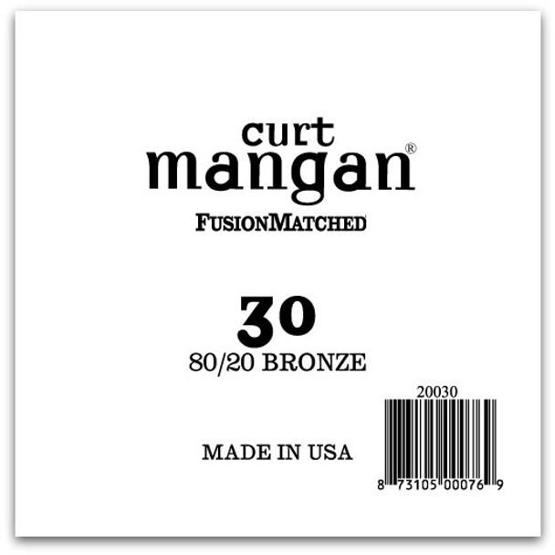 30 80/20 Bronze Single String
