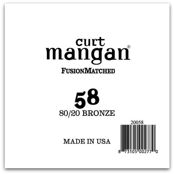 58 80/20 Bronze Single String