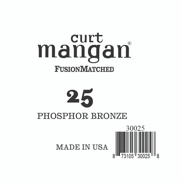 25 PhosPhor Bronze Single String