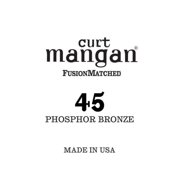 45 Phosphor Bronze Single String