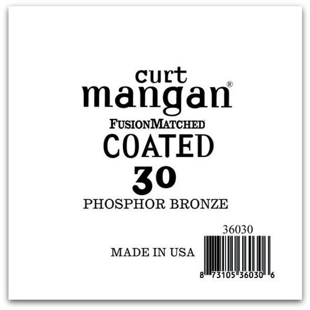 30 PhosPhor Bronze COATED Single String