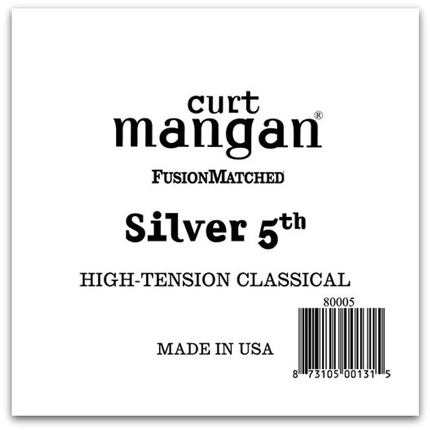 Silver 5th High-Tension Classic Single String