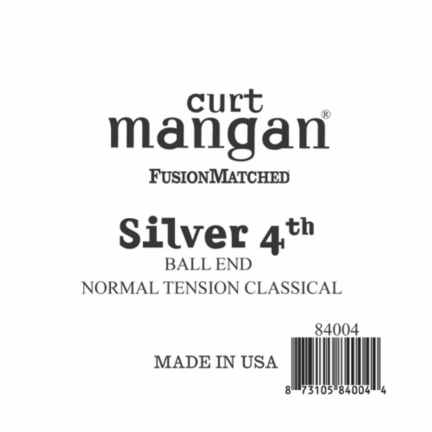 Silver 4th Ball End Normal Tension Single String