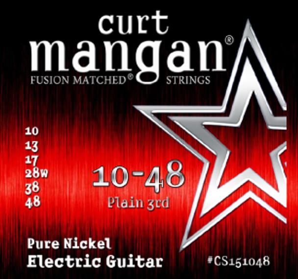 10-48 Pure Nickel Guitar Strings