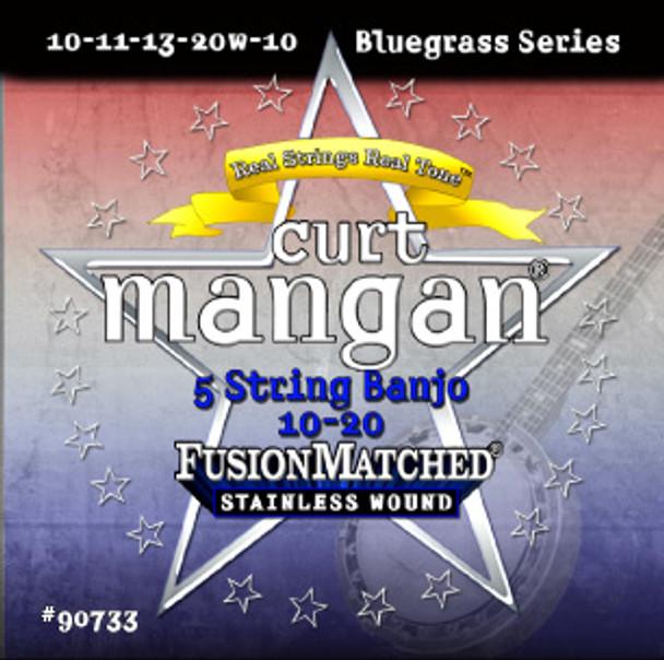 10-20 5 String Banjo Stainless