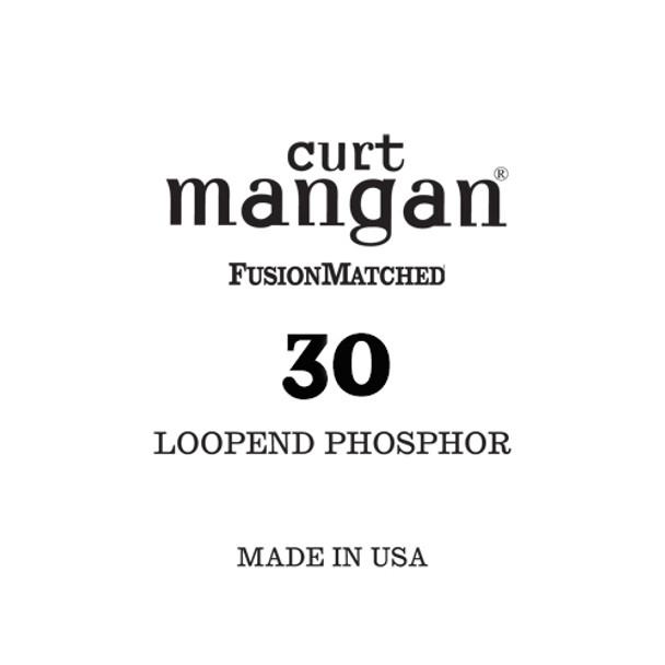 30 Loop End Phosphor Single String