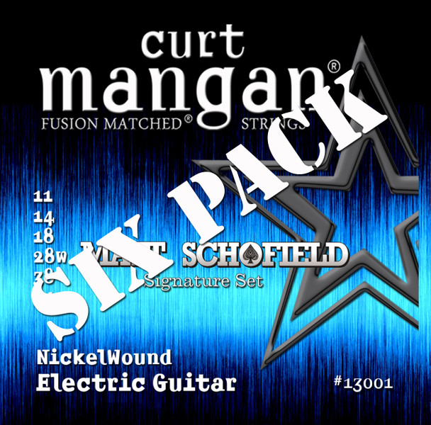 Matt Schofield Signature Set Nickel Wound Six Pack