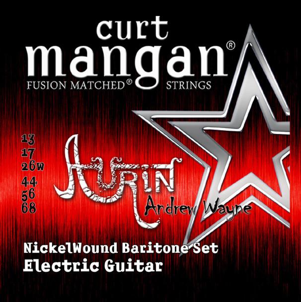 Aurin's Andrew Wayne Custom Baritone Nickel Wound Guitar String Sets -  PACK OF 3