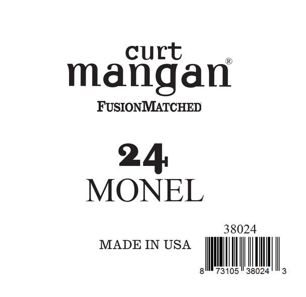 24 Monel Ball End Single String