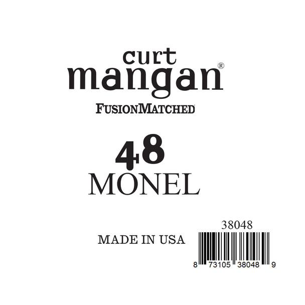 48 Monel Ball End Single String