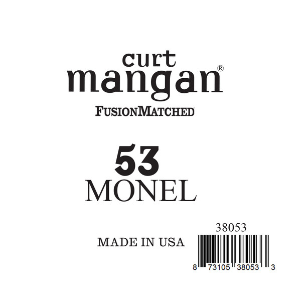 53 Monel Ball End Single String