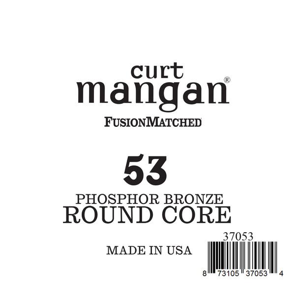 53 Phozphor Bronze ROUND CORE Single String
