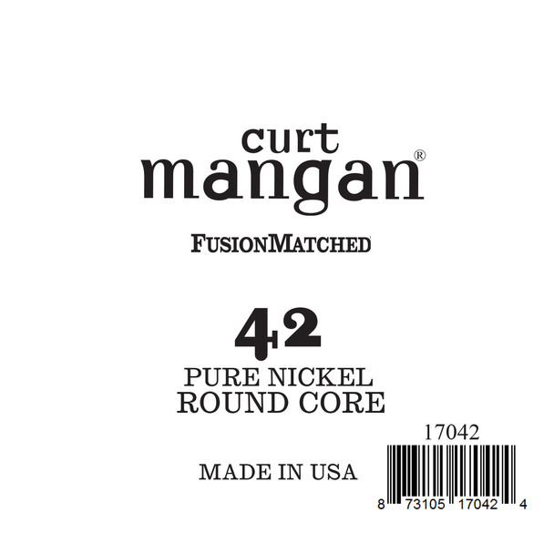 42 Pure Nickel ROUND CORE Single String