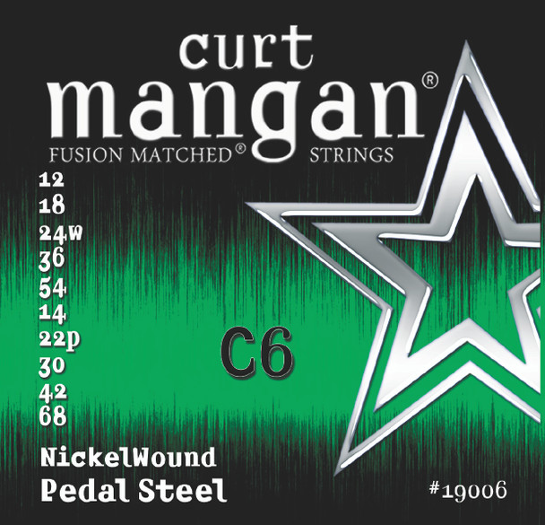 C6 Pedal Steel Nickel Wound Set